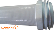 Delikon produces a whole range of large size liquid tight conduit and fittings