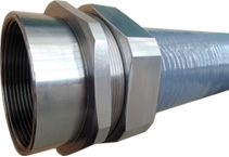 Delikon stainless steel liquid tight conduit,stainless steel lquid tight connector