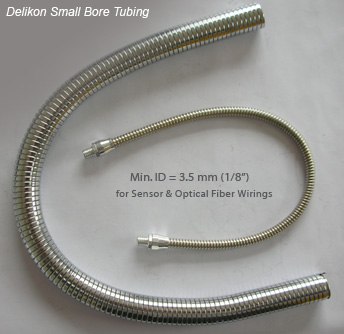 Small bore instrumentation tubing flexible conduit flexible stainless steel conduit for electric wirings